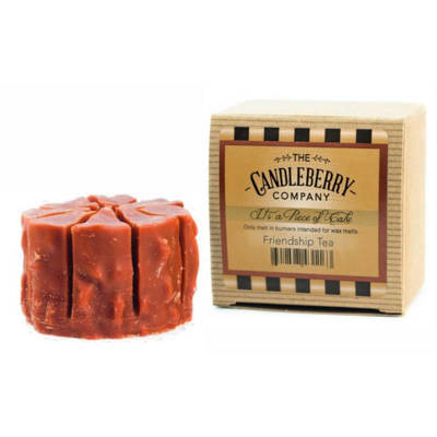 Candleberry Simmering Cake Tart wosk zapachowy - Friendship Tea