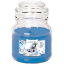 Bispol small scented candle glass jar 120 g - Anti Tobacco