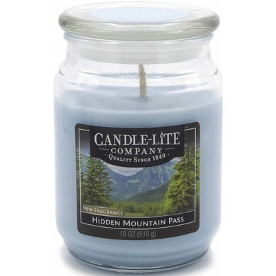 Candle-lite Everyday Collection Jar Glass Scented Candle 18 oz 510 g - Hidden Mountain Pass