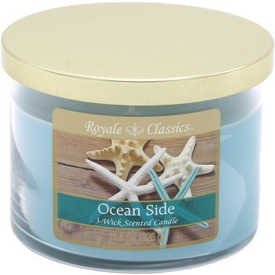 Candle-lite Royale Classics 11.5 oz 3-wick scented candle 326 g - Ocean Side