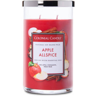 Colonial Candle large scented jar candle 18 oz 510 g - Apple Allspice