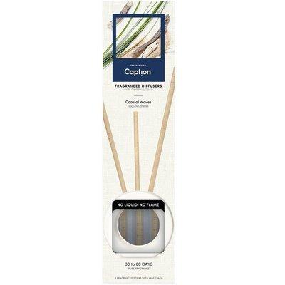 Enviroscent Caption starter set fragrance diffuser vase 3 sticks - Coastal Waves