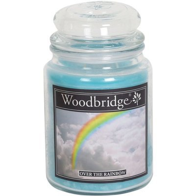 Woodbridge Scented Candle Large Jar 2 wicks 565 g - Over The Rainbow