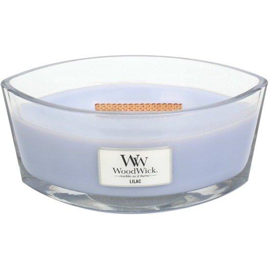WoodWick Core Heartwick Candle świeca zapachowa sojowa w szkle łódka ~ 60 h - Lilac