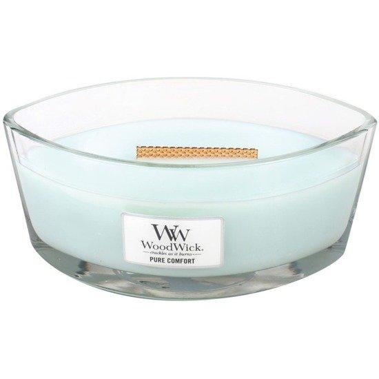 WoodWick Core Heartwick Candle świeca zapachowa sojowa w szkle łódka ~ 60 h - Pure Comfort