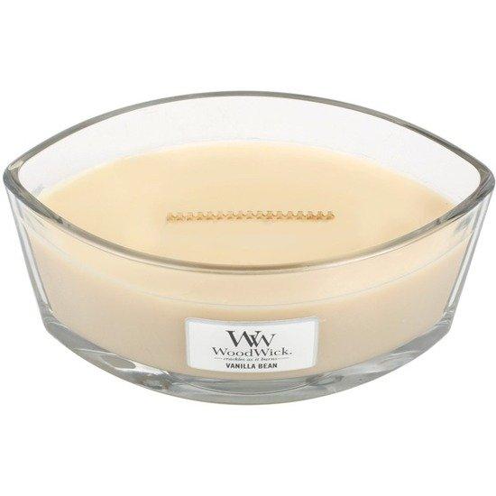 WoodWick Core Heartwick Candle świeca zapachowa sojowa w szkle łódka ~ 60 h - Vanilla Bean
