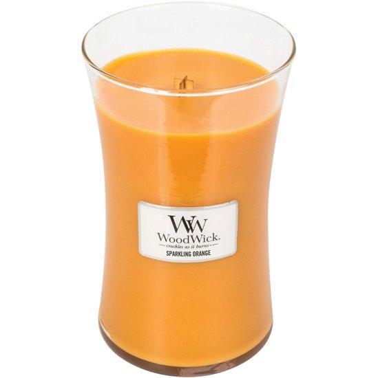 WoodWick Core Large Candle świeca zapachowa sojowa w szkle ~ 175 h - Sparkling Orange
