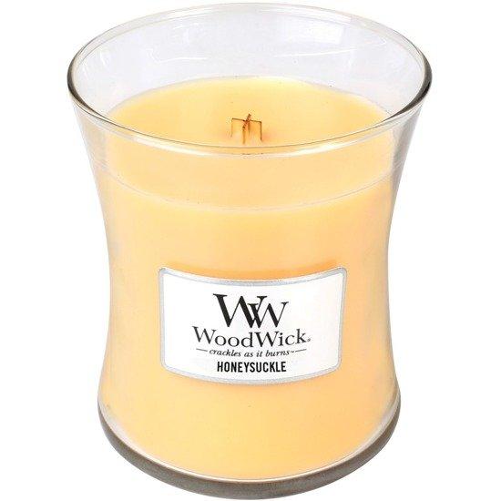 WoodWick Core Medium świeca zapachowa sojowa w szkle ~ 100 h - Honeysuckle