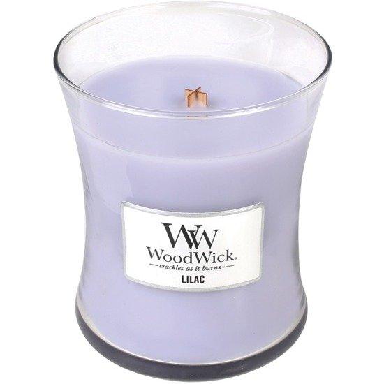 WoodWick Core Medium świeca zapachowa sojowa w szkle ~ 100 h - Lilac