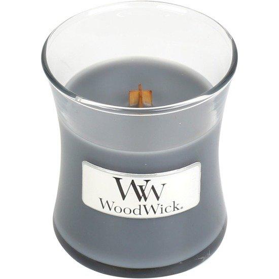 WoodWick Core Small Candle świeca zapachowa z drewnianym knotem w szkle 40 h - Evening Onyx